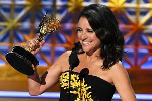Julia Louis-Dreyfus Thanks Katy Perry, Wraps 2nd Chemo Treatment for Breast Cancer