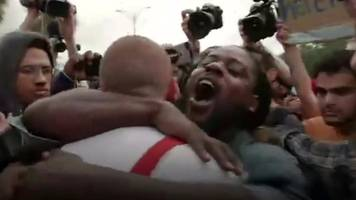 Why did a black man hug a neo-Nazi skinhead?