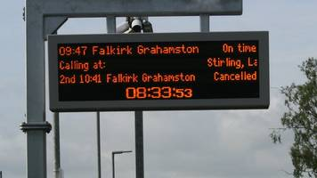 signal fault causes rail disruption