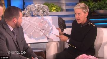 coverup questions emerge over vegas security guard's 'ellen' appearance