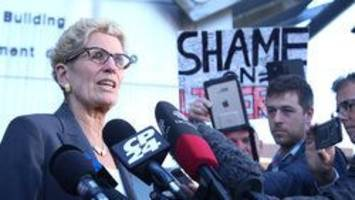 Ontario Premier Kathleen Wynne moves to sue PC Leader Patrick Brown for defamation