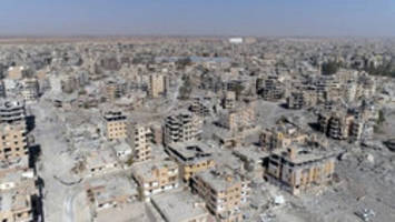 WATCH: Drone video shows utter devastation in Raqqa, Syria