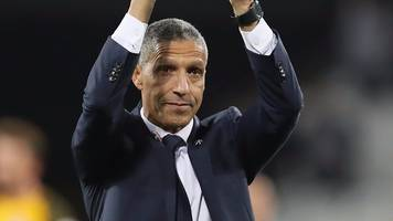 West Ham 0-3 Brighton: Chris Hughton pleased with 'outstanding' performance