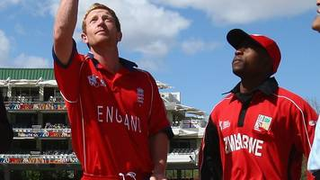 England could resume touring Zimbabwe as part of new ICC competitions