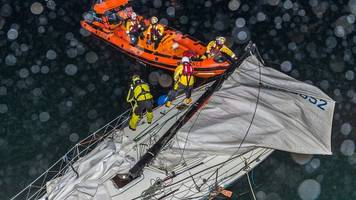 yacht and fishing boat in collision in moray firth