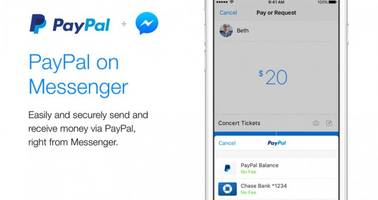 Facebook Messenger teams up with PayPal for payments