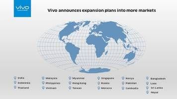 vivo announces global expansion plan into more markets