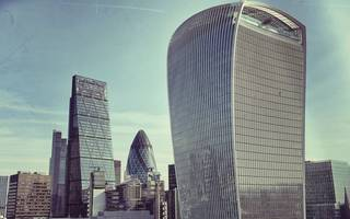"""fitch: london's """"highly overvalued"""" office market is set for a correction"""