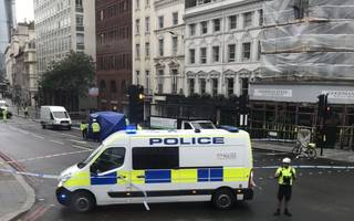 man killed in traffic collision at ludgate circus