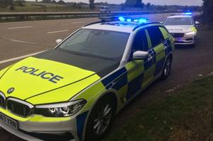 humberside police test drive new volvo and bmw cars - including jeremy clarkson's favourite