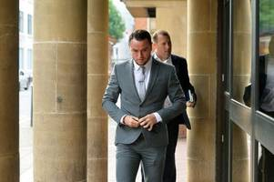 former bristol city midfielder lee tomlin in court accused of attack outside nightclub