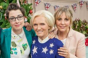 Former Bake Off stars reunited in Christmas special