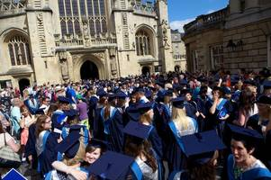 Angry students and parents 'disgusted' by Bath Spa University moving graduation from Abbey