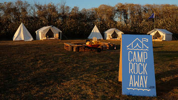pop-up camp project camp rockaway operates nyc's only beach camping option