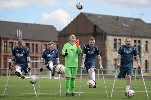 cambuslang firm helps scotland's amputee footballers host their first friendly
