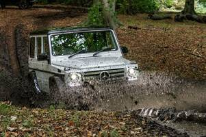 mercedes benz g-wagon - feel the force