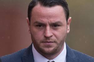 cardiff city striker lee tomlin appears in court over alleged attack that saw man's jaw broken in nightclub