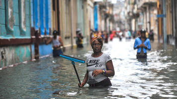 Who cleans up after hurricanes, earthquakes and war?