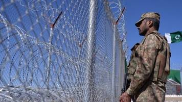 Pakistan is building a barrier on its border with Afghanistan, despite objections.