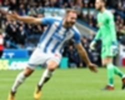 Huddersfield Town 2 Manchester United 1: Mourinho's men suffer first defeat as Lindelof error proves costly
