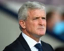 hughes: stoke didn't cope well in the first half