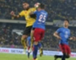 where the jdt versus perak match could be won and lost