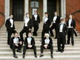 Bullingdon Club members are escorted off site by college