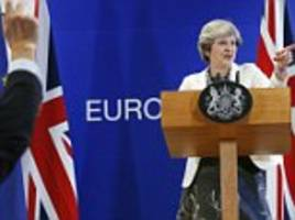 Pay £48BILLION for Brexit deal by Christmas: EU leaders