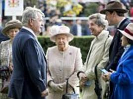 the queen looks vibrant in pale pink at ascot