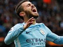 sean dyche fuming with bernardo silva after man city win