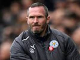 swansea 1-2 leicester: winning start for michael appleton