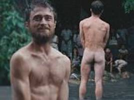 daniel radcliffe naked in new film jungle