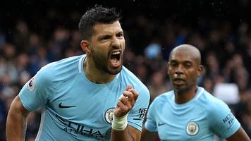 man city beat burnley to go five points clear