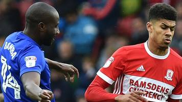 cardiff stay second with 'boro win