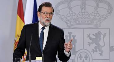 spain activates nuclear option: will seize control of catalan government, force new elections