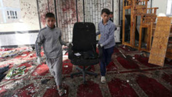 isis claims responsibility for afghan mosque attack