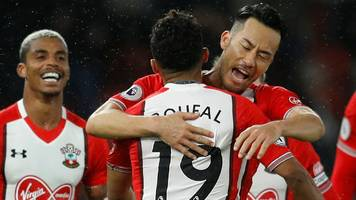 boufal scores goal of season contender as saints beat west brom