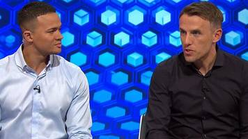 match of the day: phil neville says man utd defeat was coming