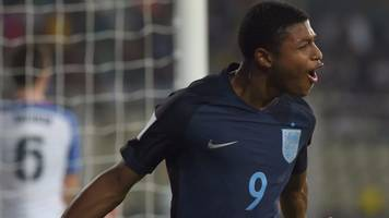 brewster hat-trick helps england into world cup semis