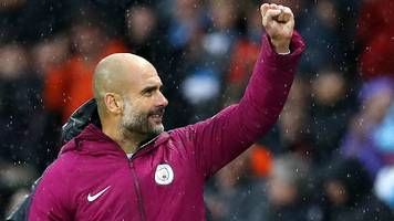 premier league results: man city beat burnley, man utd lose at huddersfield, chelsea rally