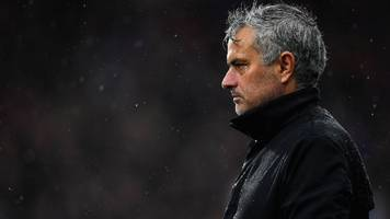 jose mourinho: man utd attitude at huddersfield was worse than a friendly