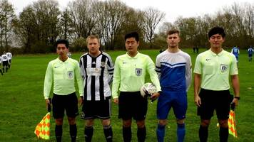 Non-league: South Korean officials take charge of Manchester League game