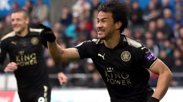 swansea city 1-2 leicester city