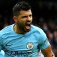 aguero equals city record as leaders cruise