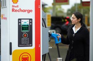 Derbyshire petrol station is one of first in UK to get 'rapid' charging points for electric cars