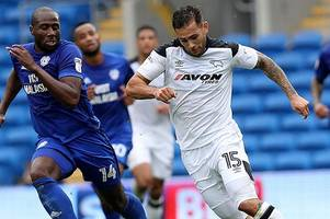 derby county team to face sheffield wednesday revealed