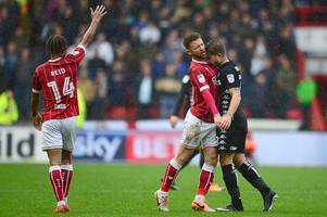 lee johnson confirms matty taylor broken nose while marlon pack reflects on incident against leeds