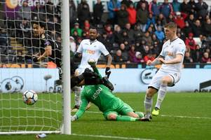 swansea 1-2 leicester city verdict: super shinji helps secure vital away win