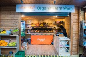 organic fruit and vegetables shop the community farm opens in bath's green park station