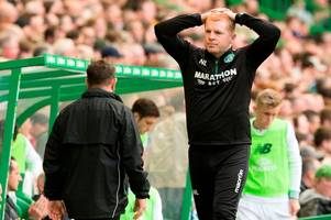 """hibs boss neil lennon hoping he has the last laugh over bt sport after """"naughty' betfred cup ad"""